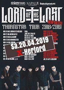 20-04-2019 Lord Of The Lost - Thornstar Tour 2019